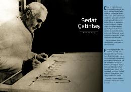 Sedat Çetintaş - İSTANBUL (1. Bölge)