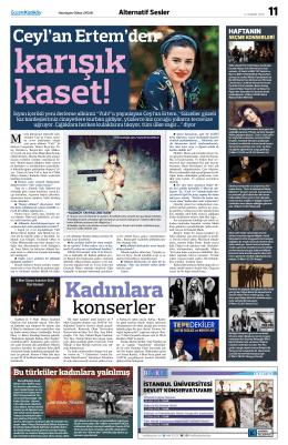 konserler - Gazete Kadıköy