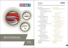 Dosya İndir - ENSMET Elektrik Malzemeleri