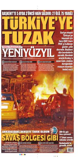 başkent`te 5 ayda 3`üncü hain saldırı