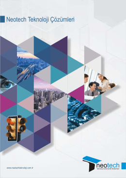 Tanıtım Kataloğu - Neotech Teknoloji