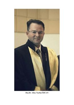 Doç.Dr. Altay Tayfun ÖZCAN