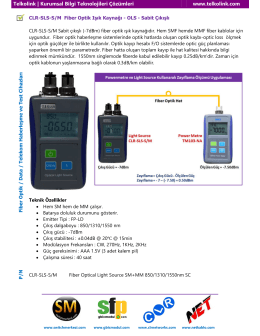 Telkolink | CLR-SLS-SM Fiber Optik Işık Kaynağı - OLS