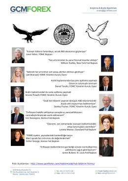 Janet Yellen, FOMC Başkanı