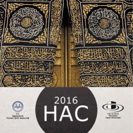 2016 Hac Broşürü için tıklayınız.