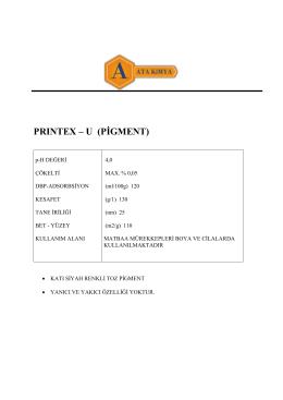 prıntex – u (pigment)