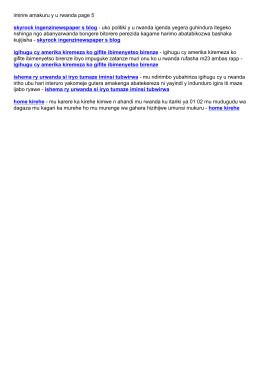 imirire amakuru y u rwanda page 5