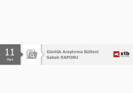 Sabah Analizi - 11 Mart 2016