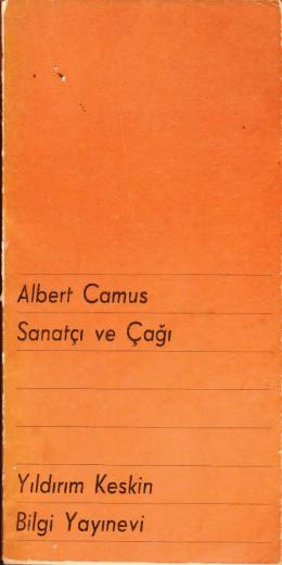 Albert Camus-Sanatçı ve Çağı-1965(edu