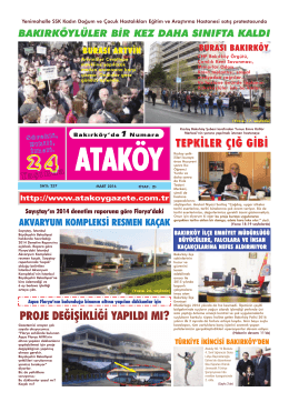 tıklayınız - Ataköy Gazetesi