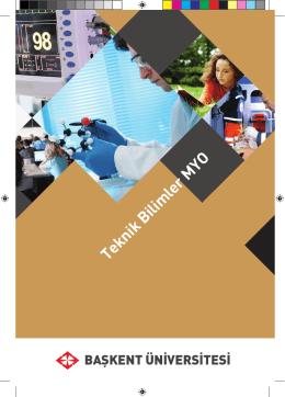 Teknik Bilimler MYO - Başkent Üniversitesi Adaylara Bilgi