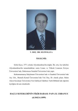 Selim KAYA