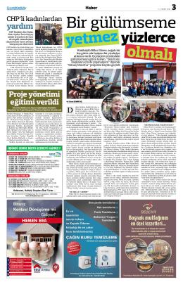 yardım - Gazete Kadıköy