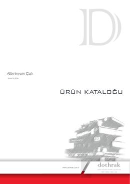 görsel katalog alüminyum çatı