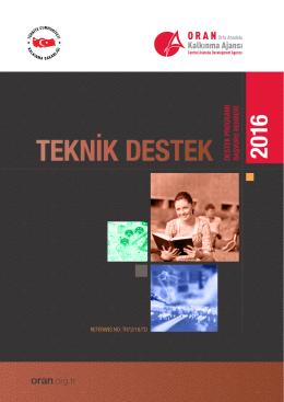 teknik destek - Orta Anadolu Kalkınma Ajansı