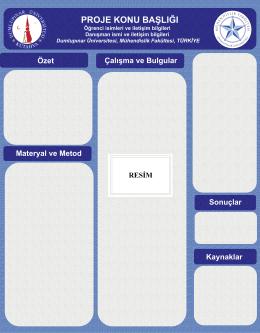 Slide 1 - Dumlupınar Üniversitesi